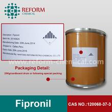 Insecticide fipronil 95%,96%,97%,98%TC fipronil