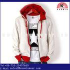 2014 new design OEM Custom clothing Men's Sweatshirt Without Hood Raglan sleeve Hoodie