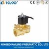 """2W350-35 1 1/4"""" inch NPT G BSPP PT Thread Brass Electric 2 Port water valve"""