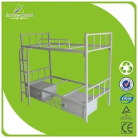 Factory directly sale modern adjustable height metal bed frame