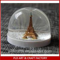 80MM plastic snow globe