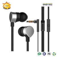 2015 new fashionable good quality stereo in-ear earphone