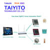 Zigbee home automation TAIYITO domotic smarthome 10 year zigbee gateway zigbee home automation gateway for TAIYITO