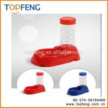 Dual pet bowls , Pet water bottle dispenser , pet drinking fountain