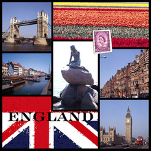 New Wall Art Printing On Canvas- England Scenery