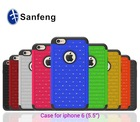 2014 new china alibaba hot sale case for iphone 6 plus 5.5 -- 12 colors wholesale