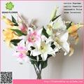 Casamento flor artificial arranjo, aromáticos de lírio do vale