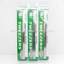 Wholesale Switzerland stainless steel VETUS eyelash tweezer, tweezer for eyelash extension