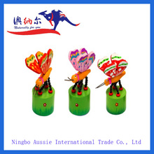 Top Selling Good Quality Wooden Push Up Toys Crafted Push Toy Factory Price Wholesale