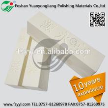 Aluminium oxide stearic acid stainless steel solid wax