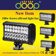 New Item 108W 4 Rows CREE LED Light Bar,LED Headlights Off Road Light Bar