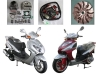 150cc GY6 scooter parts