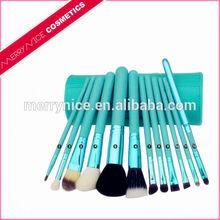 Makeup brush,private label makeup brush,makeup brush set wholesale with pu cylinder
