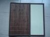 Non-slip colored bamboo mat weaving for floor