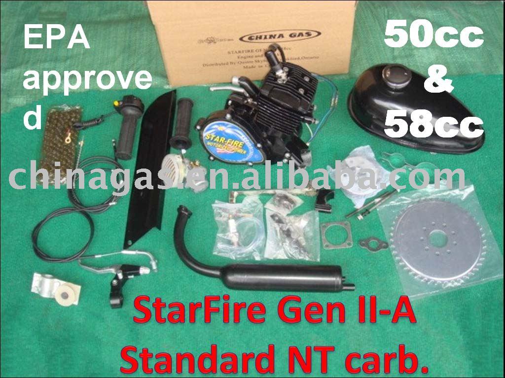 StarFire Gen II-A bicycle engine kit