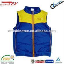 padding gilet vest waistcoat for men design