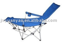 Camping chair with cup hold