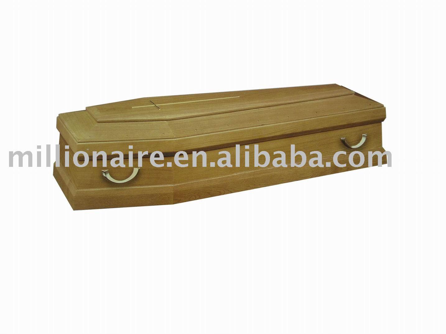 Bebé de madera de roble ataúd ventas calientes, Funeral ataúd