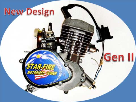 Bike Gas Motor Kit How To Install 48cc Kit cc KW Bicycle Gas Engine