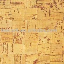 """LEECORK"" 100% natural cork flooring glue down tile"