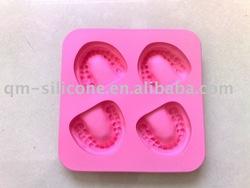 Silicone Teeth Ice Tray