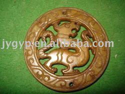 jade dragon piece