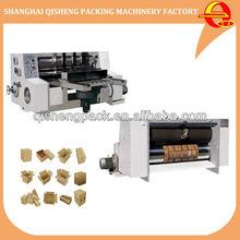 High speed carton box corrugated board rotary die cutting machine