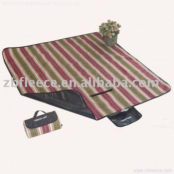 Fleece Waterproof Picnic Blanket