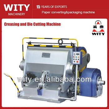 creasing and die cutting machine