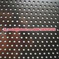 hojas de metal perforadas del acero inoxidable