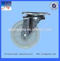 25 -- 63 mm blanco pp placa giratoria placa giratoria de muebles caster