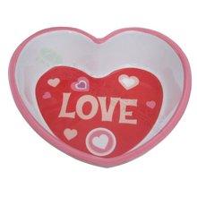 melamine heart shape kid bowl 99834