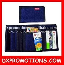 printed cheap purse/ 3-fold purse
