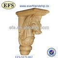 Antiguos de madera maciza de cabeza de animal talla( efs- ycy- 062)