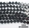 8*8mm square agate semi precious stone beads wholesale
