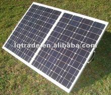80W Portable Folding solar panel monocrystalline