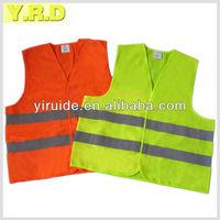 high visibility reflective safety vest EN ISO20471