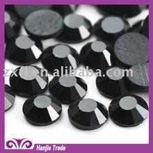 JET Black SS6 2MM DMC Rhinestone Flat back Crystal gemstone crystal rhinestones