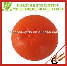 Orange Fruit PU Stress Toy