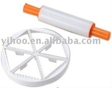 Plastic Rolling Pin / Cookier Set