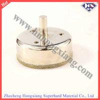 Electroplated diamond core drill bit/diamond dust hole saw/glass hand drill