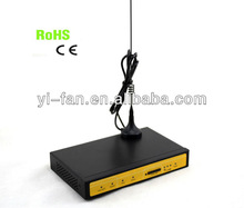 Support VPN rugged 3G wireless router with sim card slot