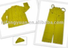 FYR-P001 Adult's PVC/polyester Water proof Rain Suit