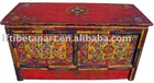 Tibetan painted furniture a table