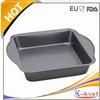 K-426 Carbon Steel Rectangular Baking Pan with Silicone Grip Handle