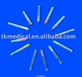 partes médicos aguja hipodérmica
