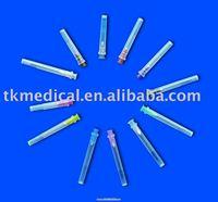 Medical parts hypodermic needle