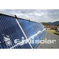 vácuo do coletor solar