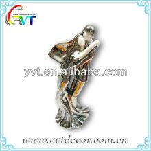 Ceramic Groom &Bride Figurine