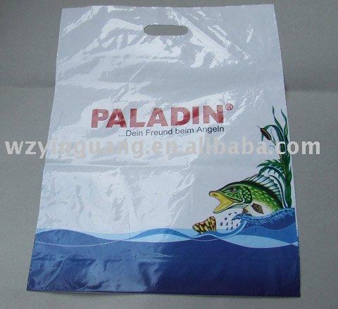 High Quality Die Cut Handle HDPE Bag